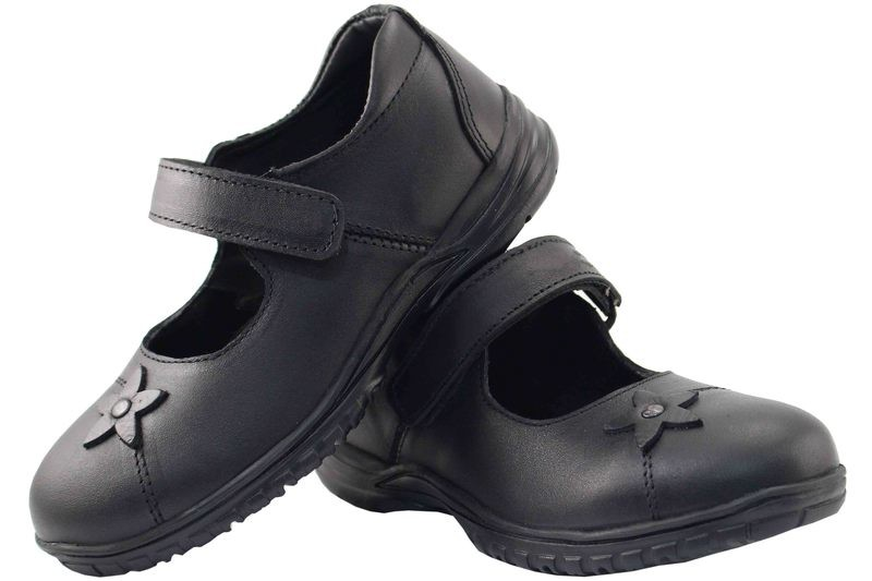 Girls Shoes Genuine Leather Black - SUGGESTED RETAIL PRICE $30.00 - WHOLESALE PRICE $6.5 - Minimum purchase 10 pairs