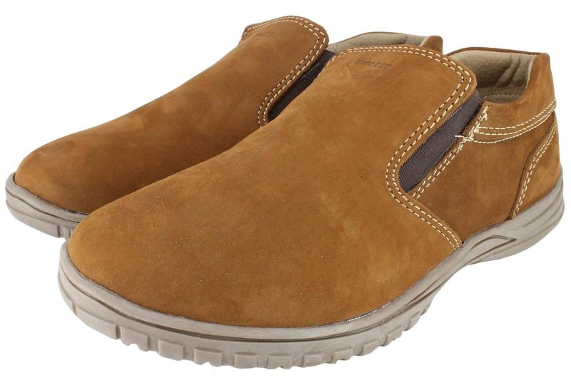 Boys Shoes Genuine Nubuck Leather Light Brown - SUGGESTED RETAIL PRICE $30 - WHOLESALE PRICE $6.5 - Minimum purchase 6 pairs