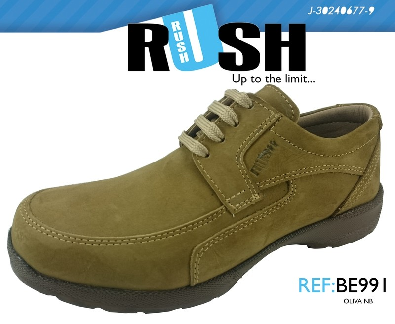 Mens Shoes Genuine Nubuck Leather Light Brown - SUGGESTED RETAIL PRICE $45 - WHOLESALE PRICE $9.5 - Minimum purchase 11 pairs