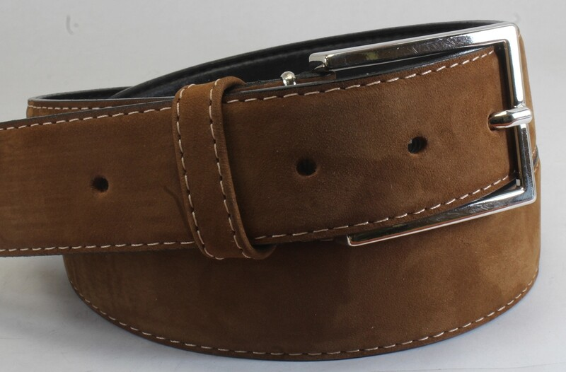Mens Belts Genuine Leather Tan 1 1/3 Wide - SUGGESTED RETAIL PRICE $30 - WHOLESALE PRICE $16. Minimum purchase 6 units