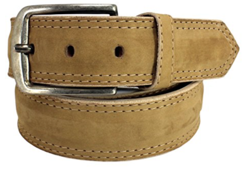 Mens Belts Genuine Leather Beige 1 1/3 Wide - SUGGESTED RETAIL PRICE $30 - WHOLESALE PRICE $16. Minimum purchase 6 units