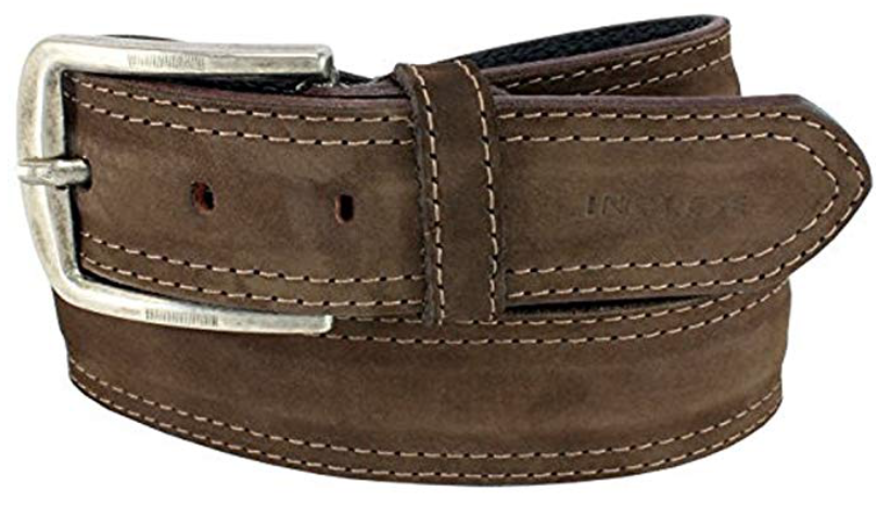 Mens Belts Genuine Leather Brown 1 1/3 Wide - SUGGESTED RETAIL PRICE $30 - WHOLESALE PRICE $16. Minimum purchase 6 units
