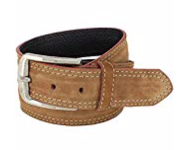 Mens Belts Genuine Leather Light Brown 1 1/3 Wide - SUGGESTED RETAIL PRICE $30 - WHOLESALE PRICE $16. Minimum purchase 6 units