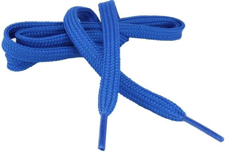 Flat Shoe Laces for sneakers color royal blue