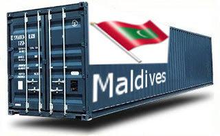 Maldives groupage maritime