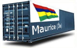 île Maurice groupage maritime