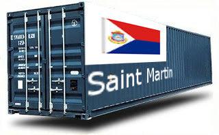 Saint Martin groupage maritime