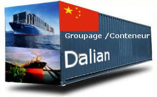 Chine Dalian - France Import groupage maritime