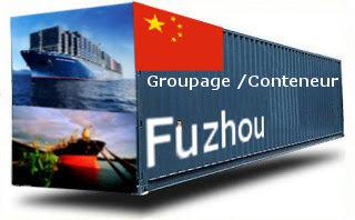 Chine Fuzhou groupage maritime