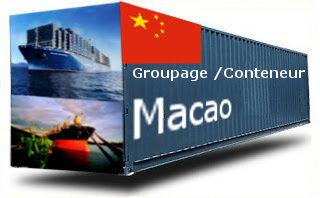 Chine Macao groupage maritime