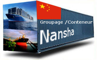 Chine Nansha groupage maritime