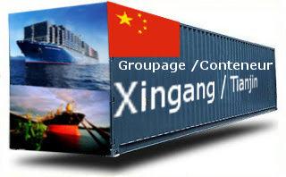 Chine Xingang / Tianjin groupage maritime