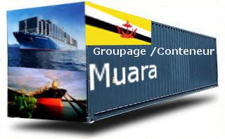 Brunei Muara groupage maritime
