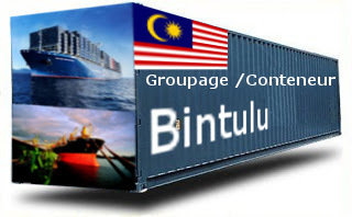 Malaisie Bintulu groupage maritime