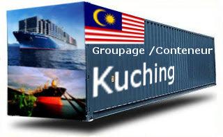 Malaisie Kuching groupage maritime