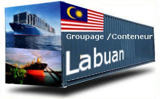 Malaisie Labuan groupage maritime