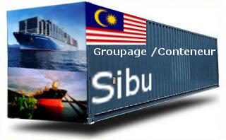 Malaisie Sibu groupage maritime
