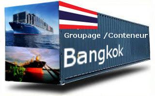 Thaïlande Bangkok (TPT/PAT) groupage maritime