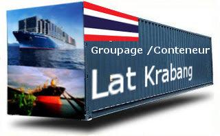 Thaïlande Lat Krabang groupage maritime