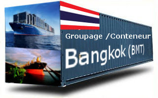 Thaïlande Bangkok (BMT) groupage maritime