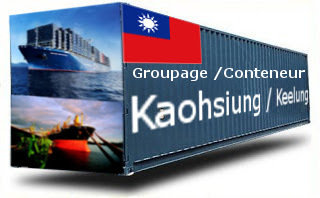 Taiwan Kaohsiung / Keelung groupage maritime