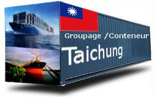 Taiwan Taichung groupage maritime