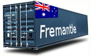 Australie Fremantle groupage maritime