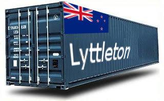 Nouvelle-Zélande Lyttleton groupage maritime