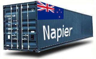 Nouvelle-Zélande Napier groupage maritime