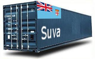 Fidji Suva groupage maritime