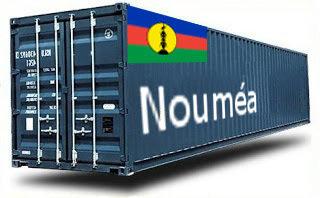 Nouvelles-Calédonie Nouméa groupage maritime