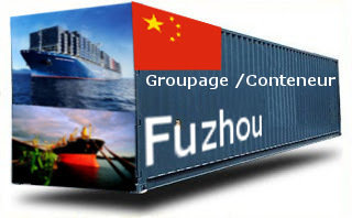 Chine Fuzhou- France Import groupage maritime
