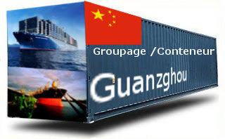 Chine Guangzhou / Huangpu - France Import groupage maritime