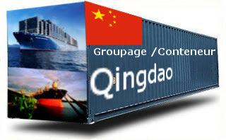 Chine Qingdao - France Import groupage maritime
