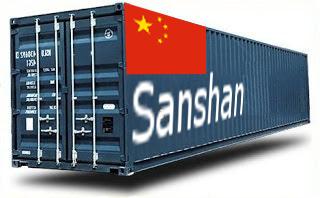 Chine Sanshan- France Import groupage maritime