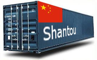 Chine Shantou- France Import groupage maritime