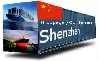 Chine Shenzhen / Yantian - France Import groupage maritime