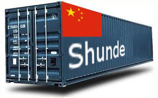 Chine Shunde- France Import groupage maritime