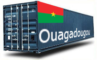 Burkina Faso Ouagadougou groupage maritime
