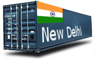 Inde New Delhi- France Import groupage maritime