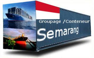 Indonésie Semarang - France Import groupage maritime