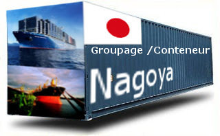 Japon Nagoya - France Import groupage maritime