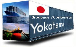 Japon Yokohama - France Import groupage maritime