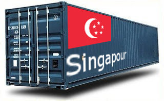 Singapour - France Import groupage maritime
