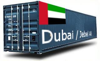 Dubai / Jebel Ali - France Import groupage maritime