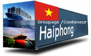 Vietnam Haiphong - France Import groupage maritime