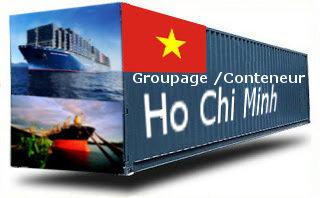 Vietnam Hochiminh / Saigon - France Import groupage maritime