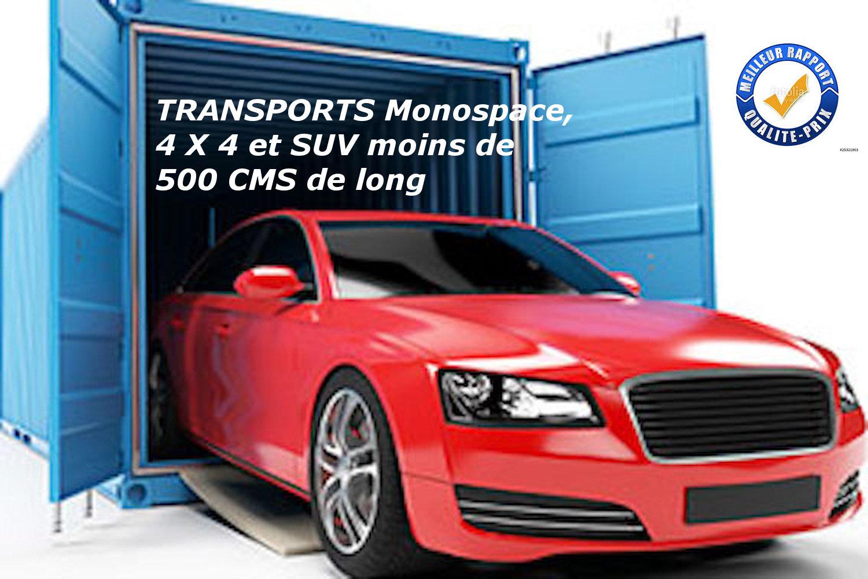 Déménagement / Transport Guadeloupe Voiture Monospace, 4 X 4 et SUV