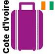 Transport 1 colis, bagage France Cote d'Ivoire