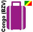 Transport 1 colis, bagage France Congo (Brazzaville)